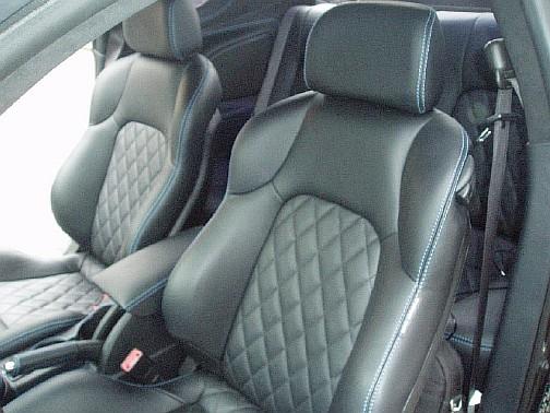 Как перешить на кожу сиденья автомобиля